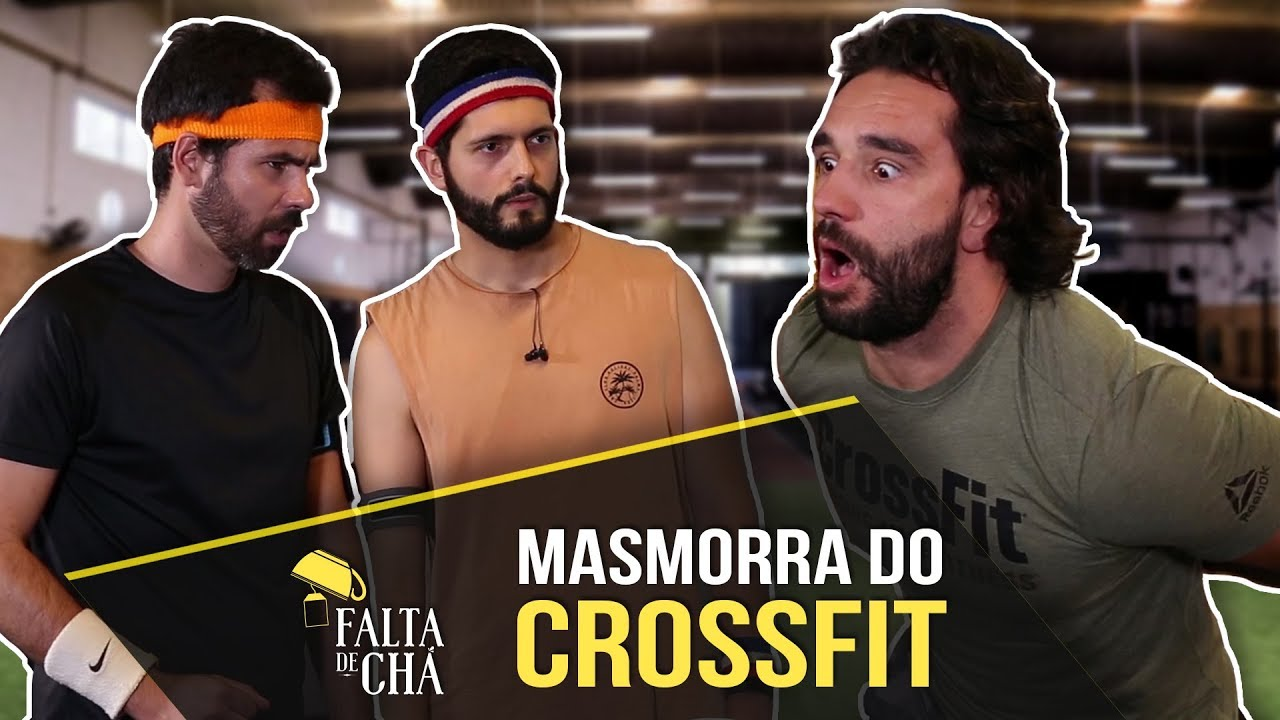 RICARDO CARDOSO e GUILHERME DUARTE na Masmorra do Crossfit
