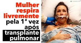 Mulher Respira pela Primeira Vez Após TRANSPLANTE DE PULMÃO