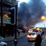 Helicóptero Despenha-se no Centro de Londres