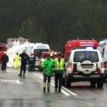 ACIDENTE GRAVE: Queda de autocarro em ravina na Sertã