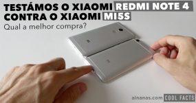 Xiaomi Redmi NOTE 4 ou Xiaomi Mi5S. Qual a melhor compra?
