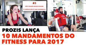 10 Mandamentos do Fitness para 2017