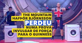 THE MOUNTAIN perdeu numa prova de força invulgar