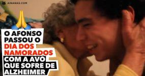 Jovem passa o Dia dos Namorados com a Avó que sofre de Alzheimer