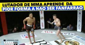 Lutador de MMA Aprende da PIOR FORMA a não ser Fanfarrão
