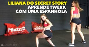 LILIANA do Secret Story Aprende TWERK com uma Espanhola