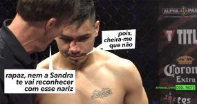 Lutadores de MMA deixam-se KO em simultaneo!