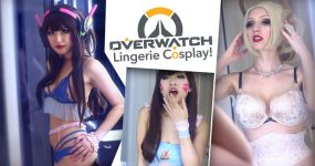 LINGERIE COSPLAY do Overwatch é Oversexy!