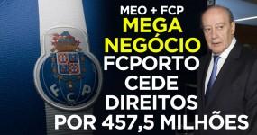 FC Porto Vende Direitos por 457,5 Milhões
