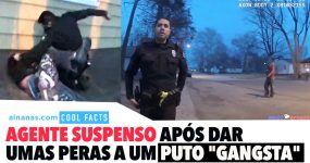 """Polícia Suspenso Após Dar umas Peras a um Puto """"Gangsta"""""""