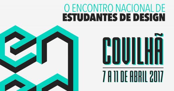ENED 2017: Design Invade a Covilhã de 7 a 11 de Abril