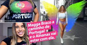 A nossa amiga Magga Braco vem a Portugal e vamos estar com ela