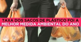 Taxa sobre sacos de plástico foi melhor acção ambiental de 2015