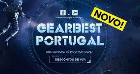 GEARBEST PORTUGAL: novo sub-site com condições especiais!