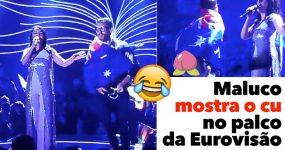 Maluco Mostra o Cu no Palco da Eurovisão