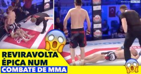Reviravolta ÉPICA num Combate de MMA