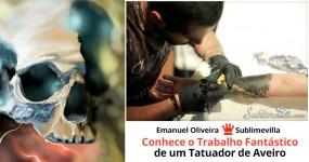 Conhece o Trabalho Fantástico de um Tatuador de Aveiro
