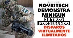 Espetacular arma de Airsoft demonstrada pelo Novritsch