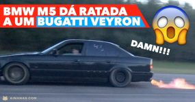 WOW: Sleeper BMW M5 dá Ratada a um BUGATTI VEYRON !!!