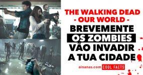 THE WALKING DEAD: zombies vão chegar ao teu mundo