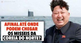 Afinal ATÉ ONDE podem chegar os MISSEIS da Coreia do Norte?