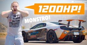 Este McLaren TRI-TURBO de 1200HP É UM ABUSO!