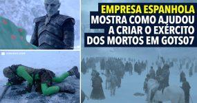 Empresa Espanhola Mostra como ajudou a criar EXERCITO DOS MORTOS
