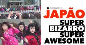 O Japão é bizarro.. de uma forma muito awesome!