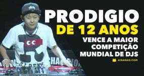 PRODIGIO de 12 anos vence maior competição mundial de DJs