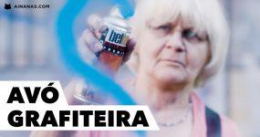 Avó de 71 anos passa a vida a graffitar a sua cidade.. por bons motivos!