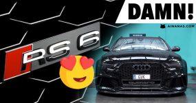 DAMN esta Audi RS6 Avant C7 está mesmo no ponto!