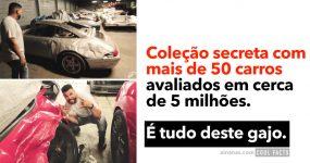 Coleção Secreta de Milhões de Euros em Carros