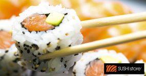 O Sushi mais Fresco com toda a Rapidez está na SUSHI STORE