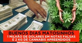 1 Milhão de Dolares Falsos Apreendidos em Matosinhos