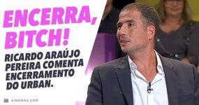 Ricardo Araújo Pereira comenta Encerramento do URBAN BEACH