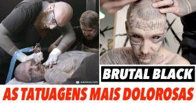 Tatuagens INTENCIONALMENTE dolorosas