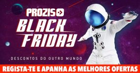 A PROZIS vai estar com descontos até 60% na Black Friday