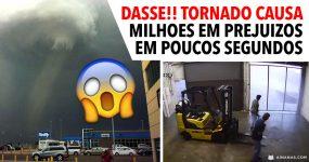 ASSUSTADOR: Tornado causa estragos de milhões em poucos segundos!