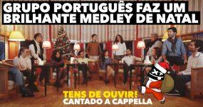 INCRÍVEL medley de Natal A Cappella dos Portugueses Contraponto