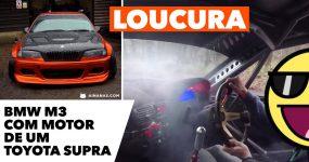 Este BMW M3 com Motor de um Toyota Supra é a LOUCURA