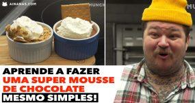 DIVINAL: Aprende a fazer uma mousse de chocolate super simples!