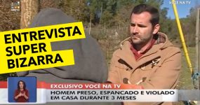 Entrevista BIZARRA no Você na TV a Gajo Violado pelo Companheiro