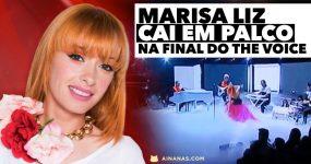MARISA LIZ CAI EM PALCO na Final do The Voice Portugal
