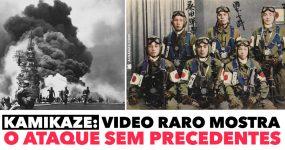 KAMIKAZE: video raro mostra o ataque sem precedentes