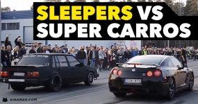 SLEEPERS vs SUPER CARROS ( video )