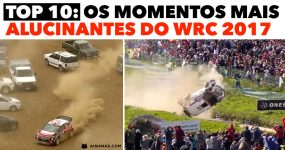 Os momentos mais ALUCINANTES do WRC 2017
