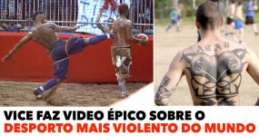 Vice faz video ÉPICO sobre o DESPORTO MAIS VIOLENTO do Mundo