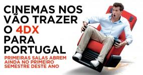 Cinemas NOS vão Trazer o 4DX para Portugal