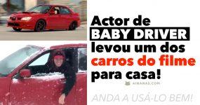 Ator de BABY DRIVER levou um dos carros do filme para casa!