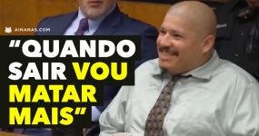 Assassino de polícias ri em tribunal e diz que VAI MATAR MAIS